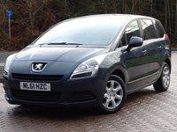 2011 PEUGEOT 5008 1.6 HDI ACTIVE 5d 112 BHP £3944.00