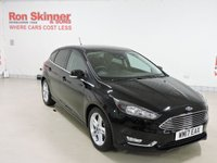 USED 2017 17 FORD FOCUS 1.0 TITANIUM 5d 100 BHP with Appearance Pack