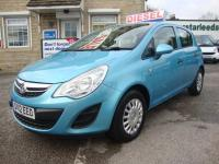 USED 2012 12 VAUXHALL CORSA 1.3 CDTi ECOFLEX S ( AIR CON ) 5DR RARE COLOUR .. SUPERB 5DR ECOFLEX MODEL WITH LOW RUNNING COSTS