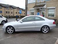 USED 2008 08 MERCEDES-BENZ CLK 220 CDi AVENTGARDE TIP AUTO  TOP LEVEL AVANTGARDE COUPE WITH AMG ALLOYS & LEATHER