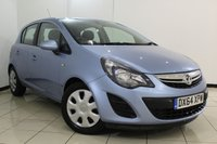 USED 2014 64 VAUXHALL CORSA 1.2 DESIGN AC CDTI ECOFLEX S/S 5DR 93 BHP FULL VAUXHALL SERVICE HISTORY + 0% FINANCE AVAILABLE T&C'S APPLY + MULTI FUNCTION WHEEL + AIR CONDITIONING + RADIO/CD + ELECTRIC WINDOWS + ALLOY WHEELS