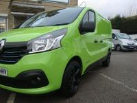 USED 2015 65 RENAULT TRAFIC 2.7T 1.6 SL27 ENERGY DCI 120 SPORT ( SAT NAV ) NO VAT !! HIGH SPEC SPORT WITH SAT NAV , ALLOYS & NO VAT !