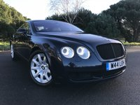 USED 2005 W BENTLEY CONTINENTAL 6.0 GT 2d AUTO 550 BHP STUNNING CAR IN MIDNIGHT BLUE MET WITH CONTRASTING CREAM LEATHER INCLUDES PRIVATE PLATE