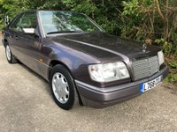 1993 MERCEDES-BENZ E-CLASS 2.2 E220 2d AUTO 150 BHP £3500.00