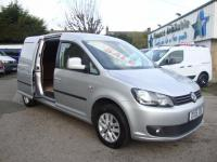 USED 2015 15 VOLKSWAGEN CADDY MAXI C20 1.6 TDI 102 HIGHLINE ( ALLOYS , A/C ) NO VAT !! TOP OF THE RANGE MAXI LONG HIGHLINE WITH NO VAT !!