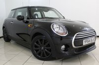 USED 2014 64 MINI HATCH COOPER 1.5 COOPER 3DR 134 BHP SERVICE HISTORY + SAT NAVIGATION + MEDIA PACK XL + BLUETOOTH + PARKING SENSOR + CRUISE CONTROL + MULTI FUNCTION WHEEL + 15 INCH ALLOY WHEELS