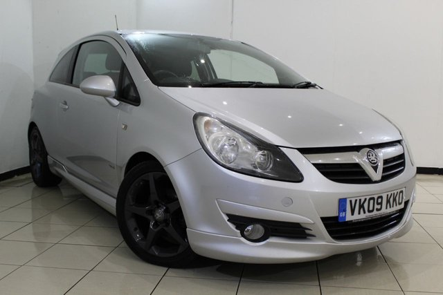 View our 2009 09 VAUXHALL CORSA 1.7 SRI A/C CDTI 3DR 125 BHP