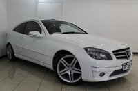 USED 2009 59 MERCEDES-BENZ CLC CLASS 2.1 CLC220 CDI SPORT 3DR AUTOMATIC 150 BHP SERVICE HISTORY + LEATHER SEATS + CRUISE CONTROL + MULTI FUNCTION WHEEL + CLIMATE CONTROL + RADIO/CD + 18 INCH ALLOY WHEELS