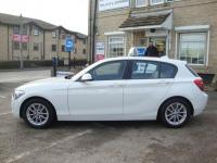 USED 2015 15 BMW 1 SERIES 116D EFFICIENTDYNAMICS ( PRO SAT NAV , LEATHER & FREE TAX ) NEW FACELIFT MODEL WITH HIGH SPEC AND FREE ROAD TAX !