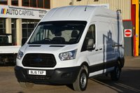 USED 2016 16 FORD TRANSIT 2.2 350 H/R P/V 5d 124 BHP HR LWB RWD ELECTRIC WINDOWS BLUETOOTH ONE OWNER FROM NEW