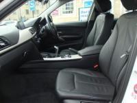 USED 2015 15 BMW 3 SERIES 320D EFFICIENTDYNAMICS BUSINESS ( LEATHER & SAT NAV ) FREE TAX FULL BLACK LEATHER , SAT NAV MEDIA AND FREE ROAD TAX !