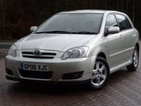 2006 TOYOTA COROLLA 1.4 T3 COLOUR COLLECTION VVT-I 5d 92 BHP £2777.00