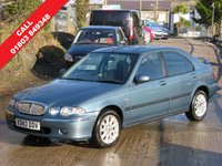 2000 ROVER 45 1.4 OLYMPIC S 5d 102 BHP £1495.00