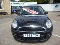 USED 2013 62 MINI HATCH COOPER S 1.6 COOPER S ( BLACK LEATHER ) SUPERB COOPER 'S' WITH JUST 49000 MILES