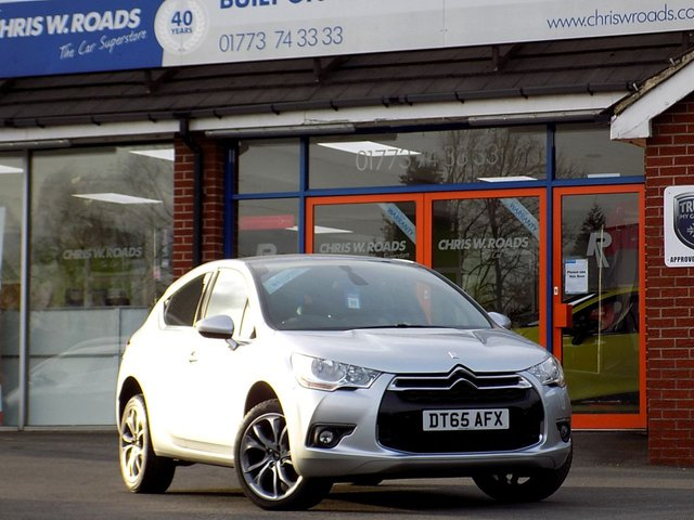 USED 2015 65 CITROEN DS4 2.0 HDi DStyle 5dr Turbo Diesel * Sat Nav * ONLY 18,000 mls * *ONLY 9.9% APR*