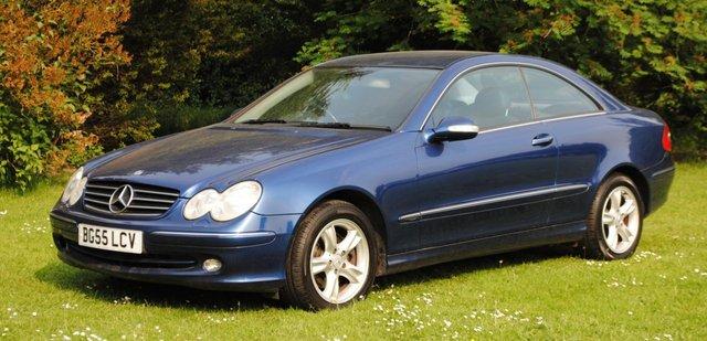 2005 55 MERCEDES-BENZ CLK 2.7 CLK270 CDI AVANTGARDE 2d AUTO 170 BHP