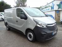 USED 2015 65 VAUXHALL VIVARO 2700 1.6CDTI ECOFLEX SWB ( NEW SHAPE + AIR CON ! ) SILVER ! 65 PLATE NEW SHAPE + AIR CON !