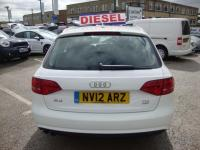 USED 2012 12 AUDI A4 2.0 TDI 177 QUATTRO SE TECHNIK ( FULL LEATHER & SAT NAV ) ESTATE QUATTRO AVANT ESTATE WITH FULL BLACK LEATHER & SAT NAV MEDIA