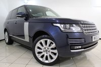 USED 2013 13 LAND ROVER RANGE ROVER 4.4 SDV8 AUTOBIOGRAPHY 5DR AUTOMATIC 339 BHP SERVICE HISTORY + HEATED/COOLED LEATHER SEATS + SAT NAVIGATION + SURROUND CAMERA SYSTEM + DVB-T DIGITAL TV TUNER +  PARK HEATING WITH REMOTE CONTROL + PANORAMIC ROOF + BLUETOOTH + CRUISE CONTROL + CLIMATE CONTROL + 21 INCH ALLOY WHEELS