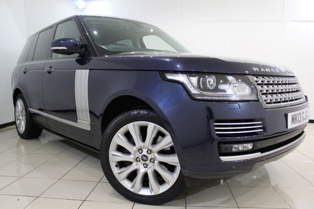 View our 2013 13 LAND ROVER RANGE ROVER 4.4 SDV8 AUTOBIOGRAPHY 5DR AUTOMATIC 339 BHP