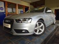 2012 AUDI A4 2.0 TDI SE TECHNIK 4d 134 BHP £10500.00