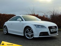 USED 2014 14 AUDI TT 1.8 TFSI S LINE 2d * 128 POINT AA INSPECTED * BUILT IN BLUETOOTH HANDSFREE *