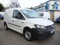 USED 2016 16 VOLKSWAGEN CADDY 2.0 TDI BLUEMOTION TECH 102 VAN ( AIR CON ) NEW MODEL 2016 NEW SHAPE MODEL & AIR CON !!