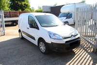 2014 CITROEN BERLINGO VAN £POA