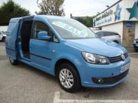 USED 2013 63 VOLKSWAGEN CADDY MAXI C20 1.6 TDI 102PS HIGHLINE  TOP OF THE RANGE HIGHLINE EDITION