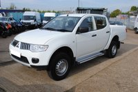 2014 MITSUBISHI L200 PICK UP £POA