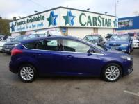 USED 2016 65 FORD FOCUS 1.0 ECOBOOST TITANIUM ( £20 TAX ! ) 5DR 2016 YEAR !! NEW MODEL TOP SPEC TITANIUM 5DR ECOBOOST PETROL WITH £20 ROAD TAX