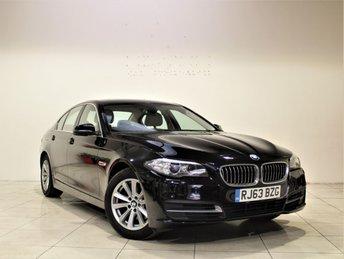 2013 BMW 5 SERIES 2.0 518D SE 4d AUTO 141 BHP £13485.00