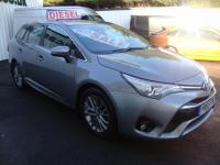 USED 2015 65 TOYOTA AVENSIS 1.6D BUSINESS EDITION ( SAT NAV MEDIA ) NEW MODEL ESTATE ! 65 PLATE NEW SHAPE BUSINESS EDITION ESTATE