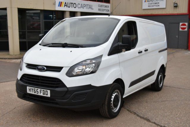 2015 65 FORD TRANSIT CUSTOM 2.2 290 LR P/V 5d 99 BHP LR SWB FWD POWER WIDOWS, MIRRORS FULL SERVICE HISTORY