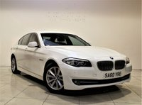 USED 2010 60 BMW 5 SERIES 2.0 520D SE 4d AUTO 181 BHP + 1 PREV OWNER  + AIR CON + AUX + BLUETOOTH + SERVICE HISTORY