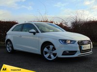 USED 2013 63 AUDI A3 1.4 TFSI SPORT 3d * BUY NOW PAY NOTHING FOR 6 MONTHS *128 POINT AA INSPECTED*