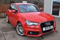2011 AUDI A1 1.6 TDI S LINE 3d 103 BHP £7995.00