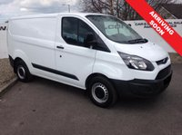 2014 FORD TRANSIT CUSTOM  290 2.2 100 BHP ECONETIC L1 H1 **CHOICE OF 70 VANS** £6350.00