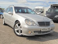 USED 2004 54 MERCEDES-BENZ C CLASS 2.1 C220 CDI AVANTGARDE SE 5d AUTO 148 BHP 12 MONTHS MOT,FULL SERVICE HISTORY, 2 KEYS, EXCELLENT CONDITION.