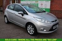USED 2011 11 FORD FIESTA 1.2 ZETEC 5d 81 BHP +5 DOOR +FSH +Bluetooth