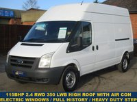 2010 FORD TRANSIT 115 350 LWB HIGH ROOF WITH AIR CON & HISTORY £6445.00