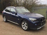 USED 2010 10 BMW X1 2.0 XDRIVE20D SE 5d AUTO 174 BHP One Lady Owner+FBMWSH