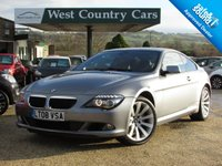 USED 2008 08 BMW 6 SERIES 3.0 635D SPORT 2d 282 BHP High Specification Diesel Coupe