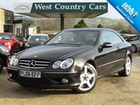 USED 2006 06 MERCEDES-BENZ CLK 3.5 CLK350 SPORT 2d 269 BHP Incredibly Low Mileage