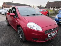 USED 2009 09 FIAT GRANDE PUNTO 1.4 ACTIVE 8V 3d 77 BHP ONE OWNER FULL SERVICE HISTORY