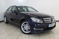 USED 2013 13 MERCEDES-BENZ C CLASS 2.1 C220 CDI BLUEEFFICIENCY AMG SPORT 4DR 168 BHP MERCEDES SERVICE HISTORY + HALF LEATHER SEATS + BLUETOOTH + PARKING SENSOR + CRUISE CONTROL + MULTI FUNCTION WHEEL + 17 INCH ALLOY WHEELS