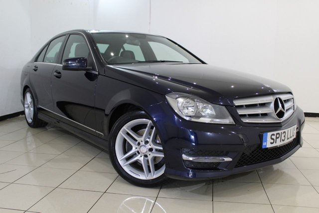 View our 2013 13 MERCEDES-BENZ C CLASS 2.1 C220 CDI BLUEEFFICIENCY AMG SPORT 4DR 168 BHP