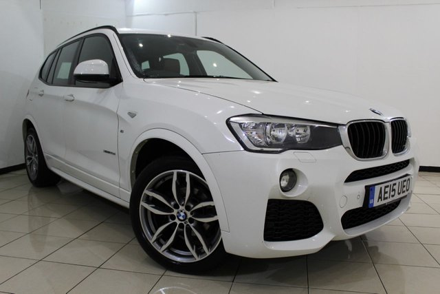 View our 2015 15 BMW X3 2.0 XDRIVE20D M SPORT 5DR AUTOMATIC 188 BHP