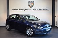 USED 2014 63 VOLKSWAGEN GOLF 2.0 SE TDI BLUEMOTION TECHNOLOGY 5DR 148 BHP + FULL VW SERVICE HSTORY + 1 OWNER FROM NEW + BLUETOOTH + SPORT SEATS + DAB RADIO + CRUISE CONTROL + HEATED MIRRORS + 16 INCH ALLOY WHEELS +