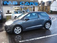 USED 2015 15 CITROEN DS3 1.2 PURETECH DSIGN PLUS 3d 82 BHP FULL SERVICE HISTORY,ONLY £20 A YEAR ROAD TAX
